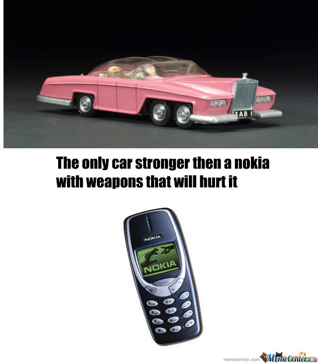 The Pink Rolls Royce Vs Nokia