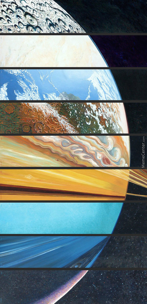The Planets, Aligned