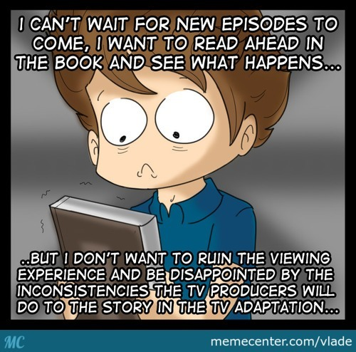 The Problems With Shows/movies Based On Books/manga