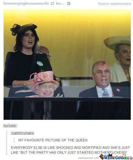 The Queen Is A Boss