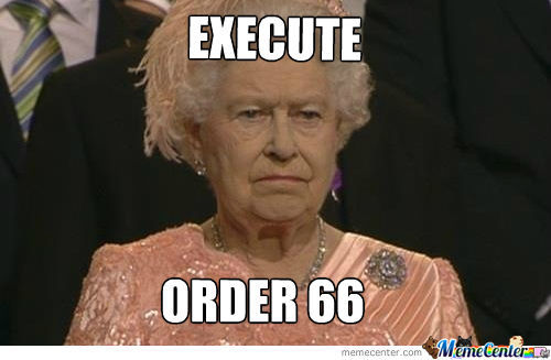 The Queen Is A Sith