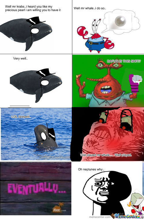 The Real Truth About Mr Krabs And Pearl