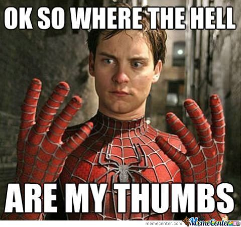 The Reason Spiderman Is Not In Avengers No Thumbs
