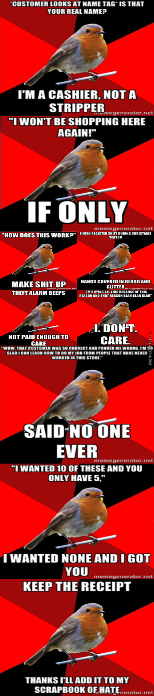 The Retail Robin
