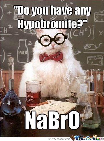 The Return Of Chemistry Cat!