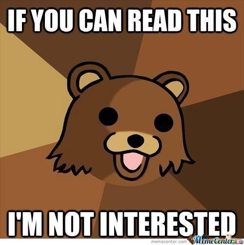 The Return Of Pedobear!