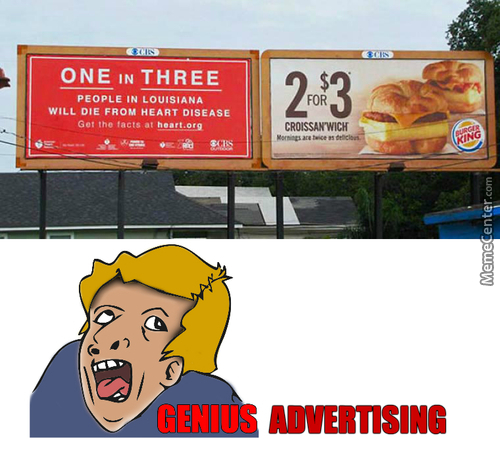 The Right Advertise Is Only For Second And Third Person