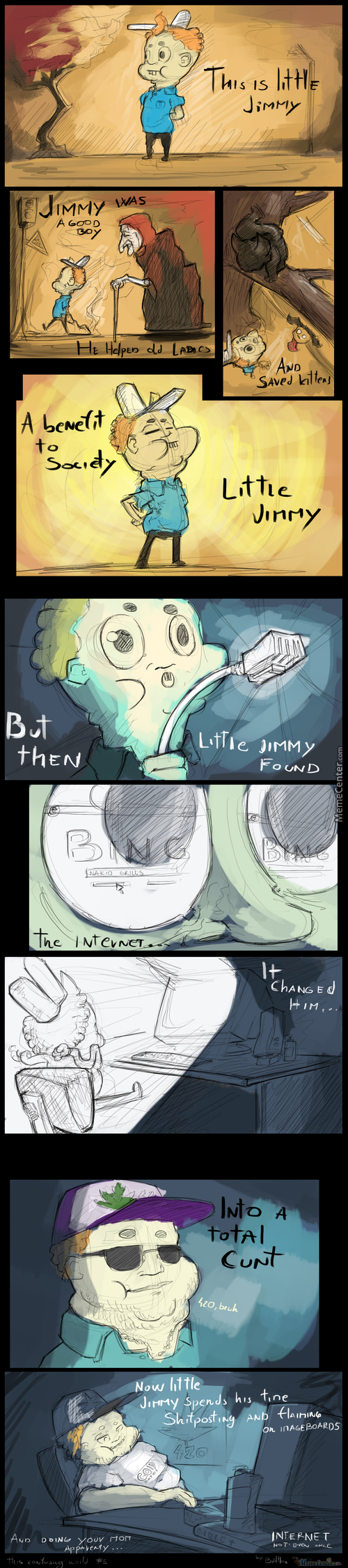 The Sad Tale Of Little Jimmy