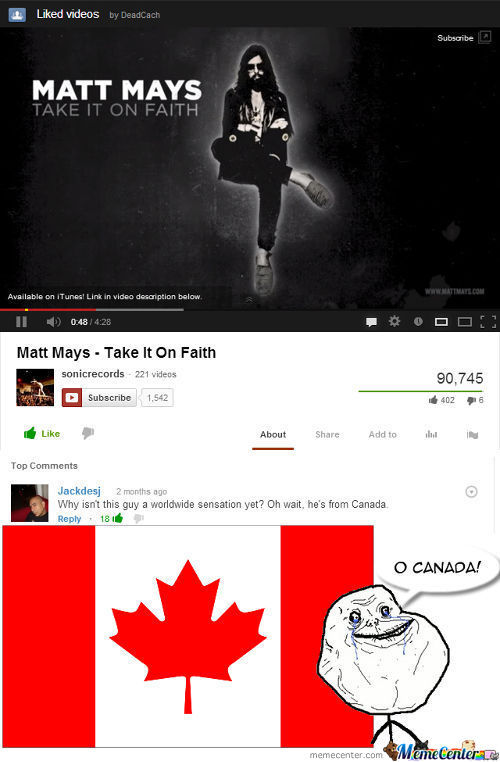The Saddest Moment For Canadians