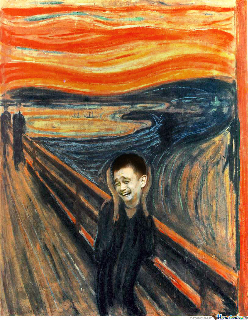 The Scream / Yao Ming (2013)