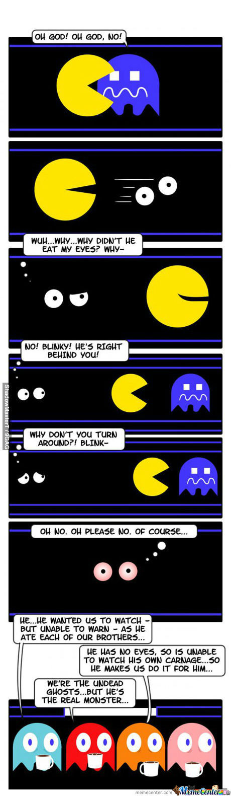 The Secret Behind Pacman