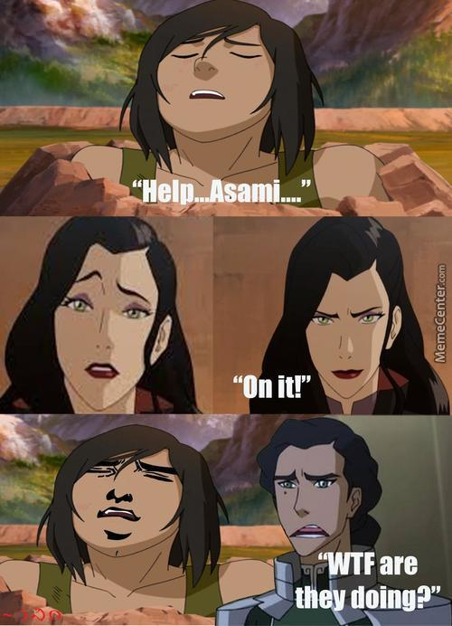 The Seeds Of Korrasami...(Or Lok: Abby X Katie/lucy Xd)