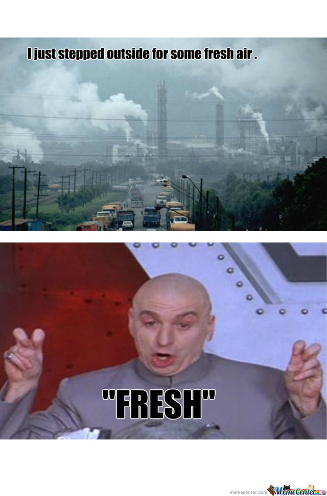 The Smell Of Fresh Processed Chemicals
