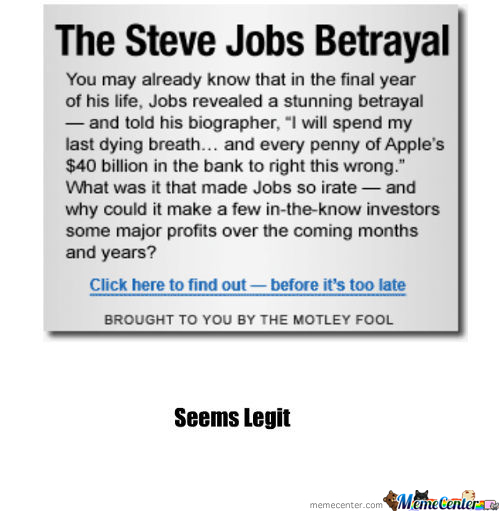 The Steve Jobs Betrayal