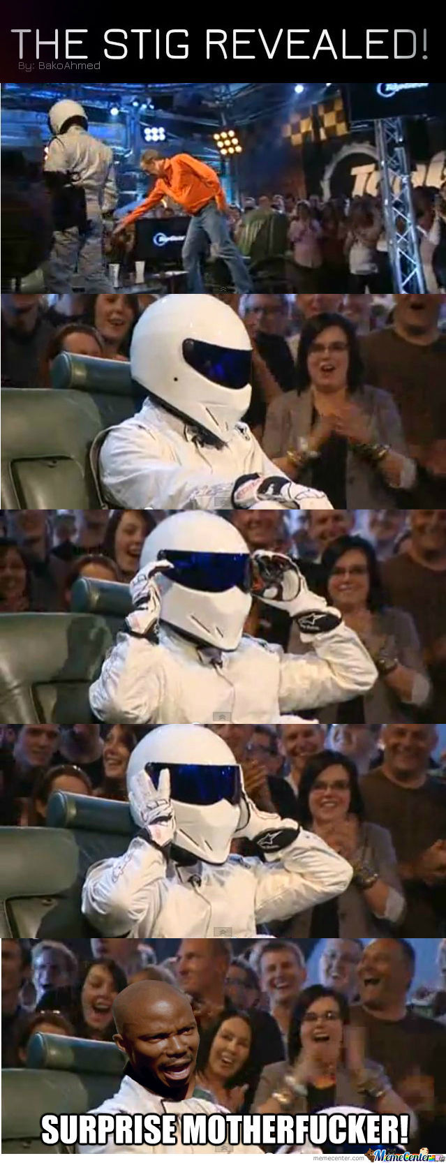 The Stig Revealed!