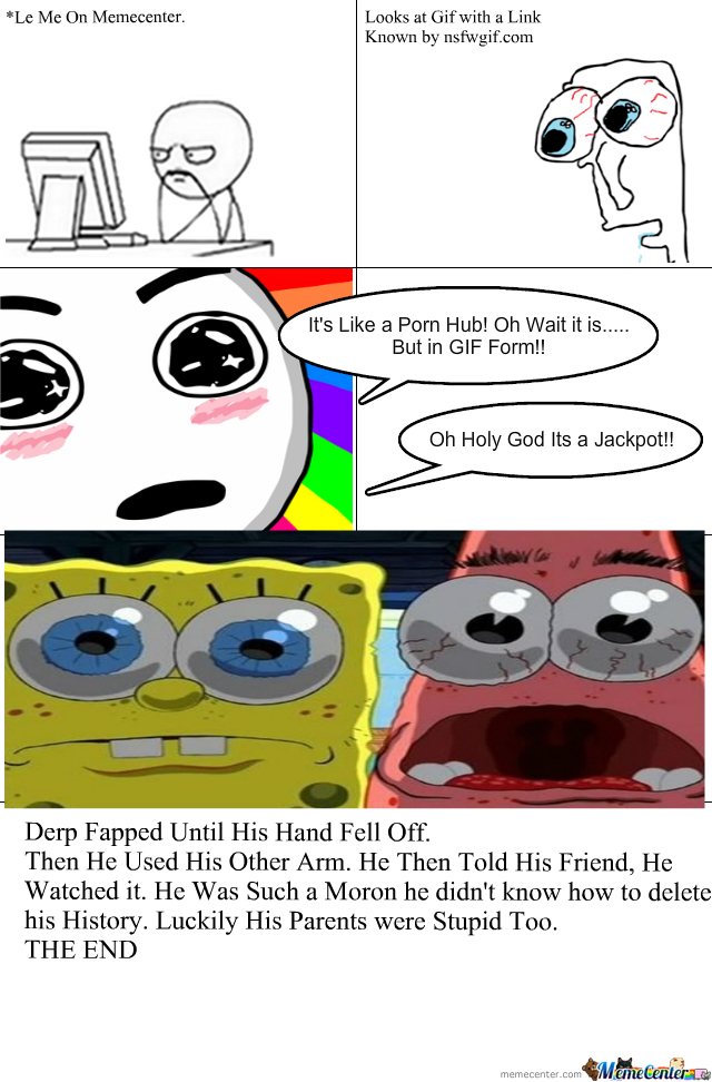 The Story Of Derp And His Porn