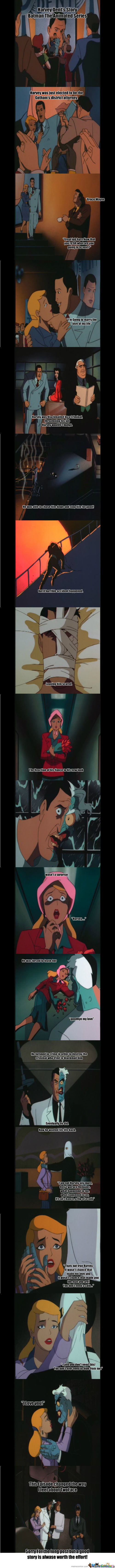 The Story Of Twoface (From Batman The Animated Series)