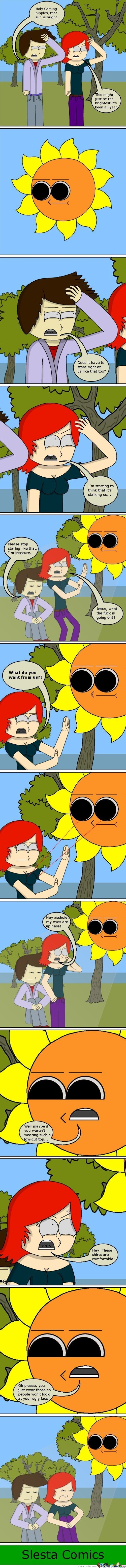 The Sun Is A Dick