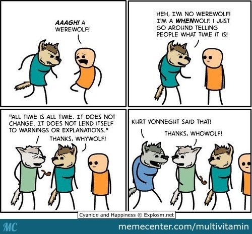 The Tale Of Whenwolf, Whywolf And Whowolf