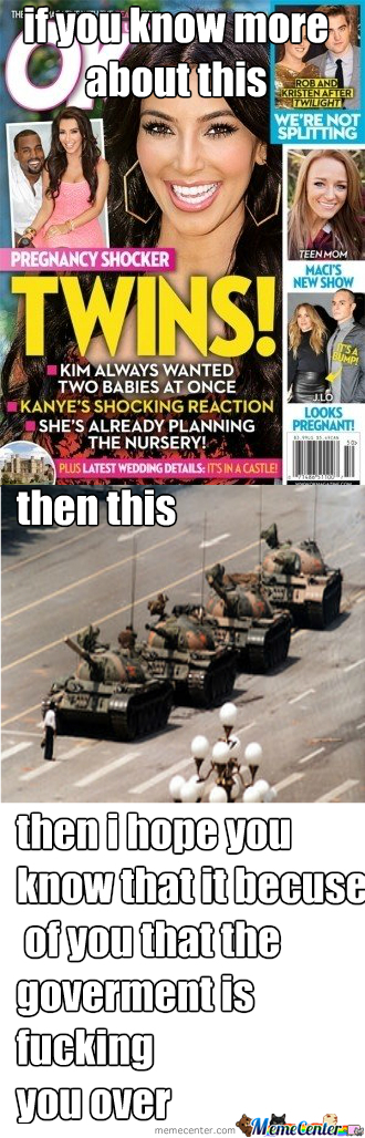 The Tank Man Is A Hero