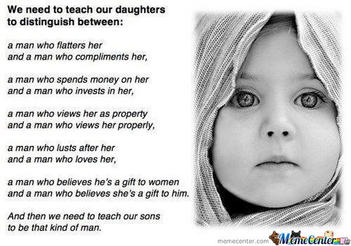 The Thing We Should Teach Our Daughter