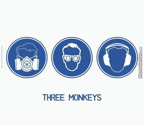 The Three  Monkeys