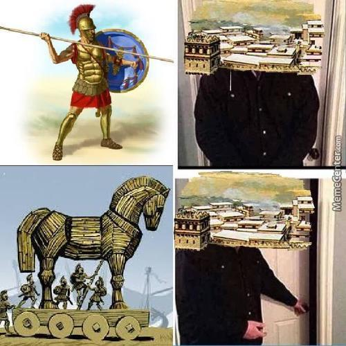 The Trojan Horse Is The Only Good Thing Greeks Have Made
