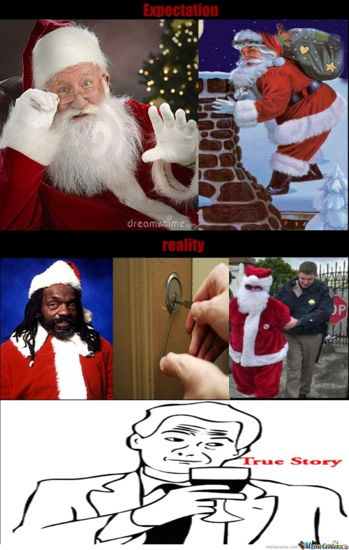 The true identity of santa