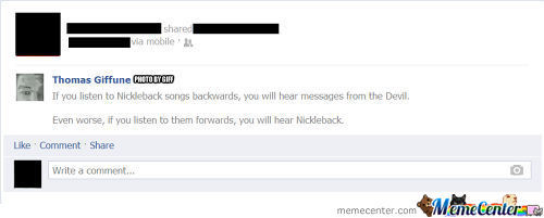 The Truth About Nickleback