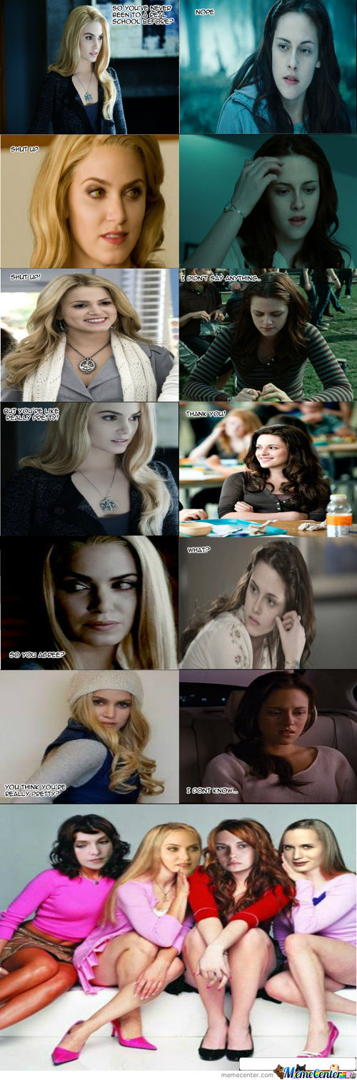 The Twilight Mean Girls