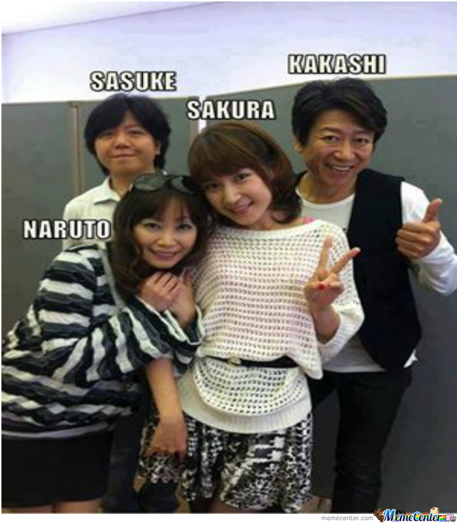 The Voice Actors From Naruto