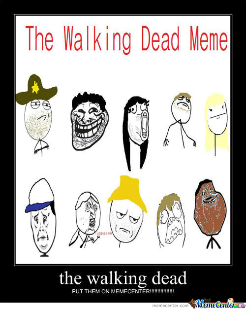 The Walking Dead Meme's