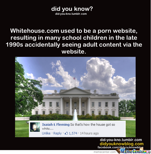 The Whitehouse...