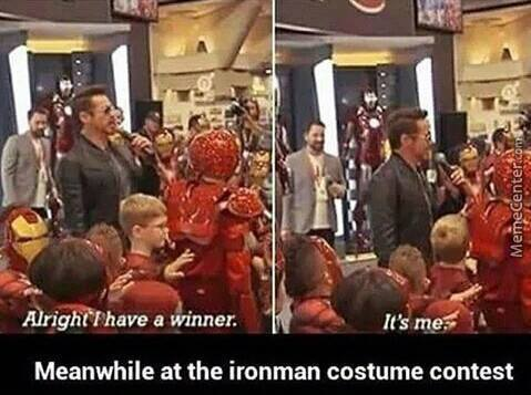 The Winner Is ..... Robert Downey Jr.