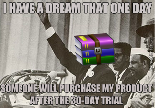 The Winrar Dream