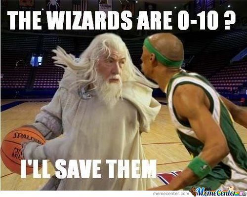 The Wizards Are 0-10 ?