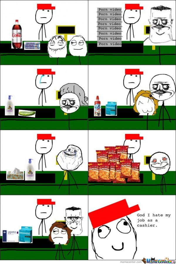 The Woes Of A Cashier