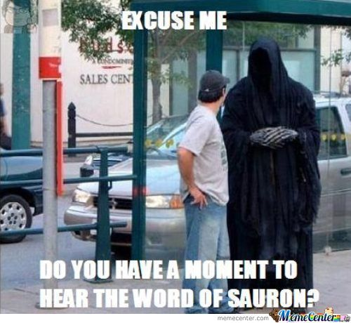 The Word Of Sauron