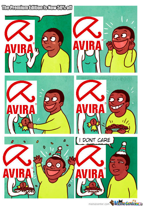 Them Damn Avira Advertisement