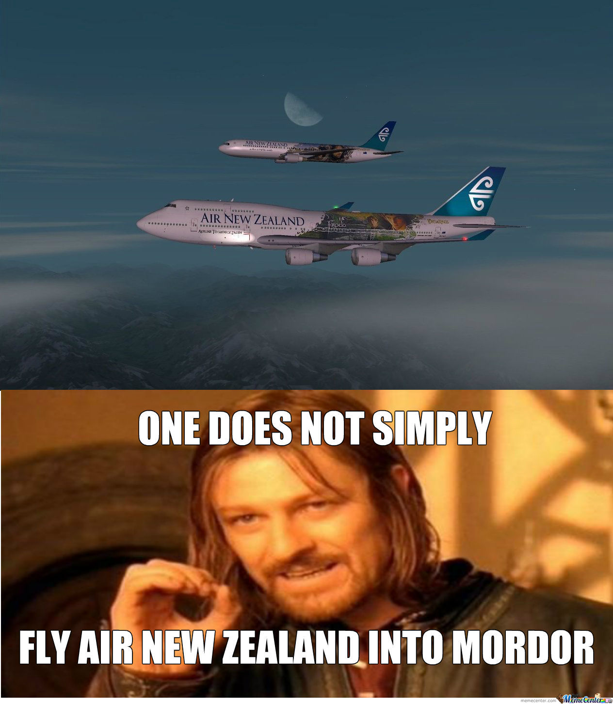 Then How The Hell Do You Get To Mordor Then?