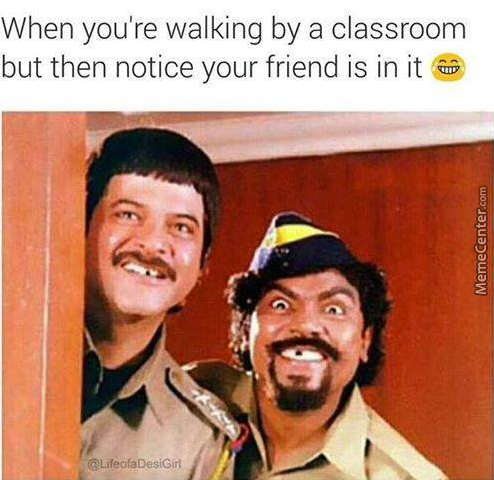 Then Your Friend Acts Like He Doesnt Know You