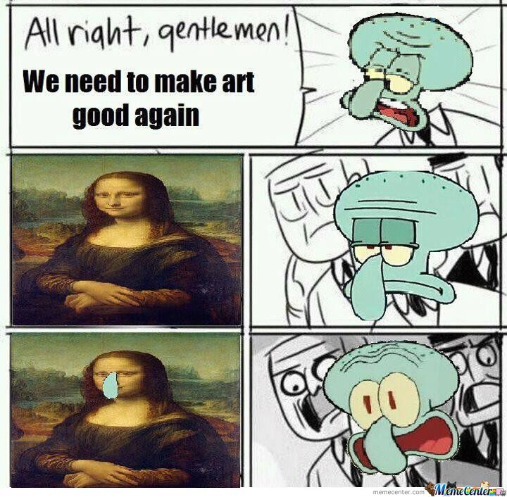 Theory Of Squidward
