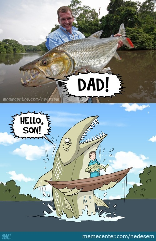 There's Always A Bigger Fish