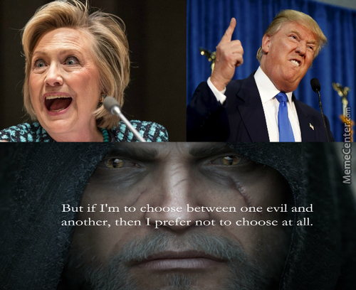 There Is No Lesser Evil