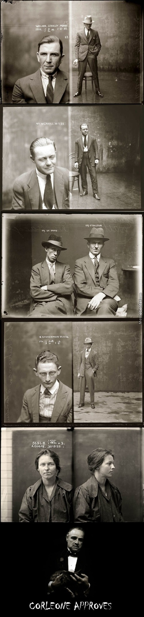 These 1920 Criminals Have More Style Than Most Of People Nowadays.