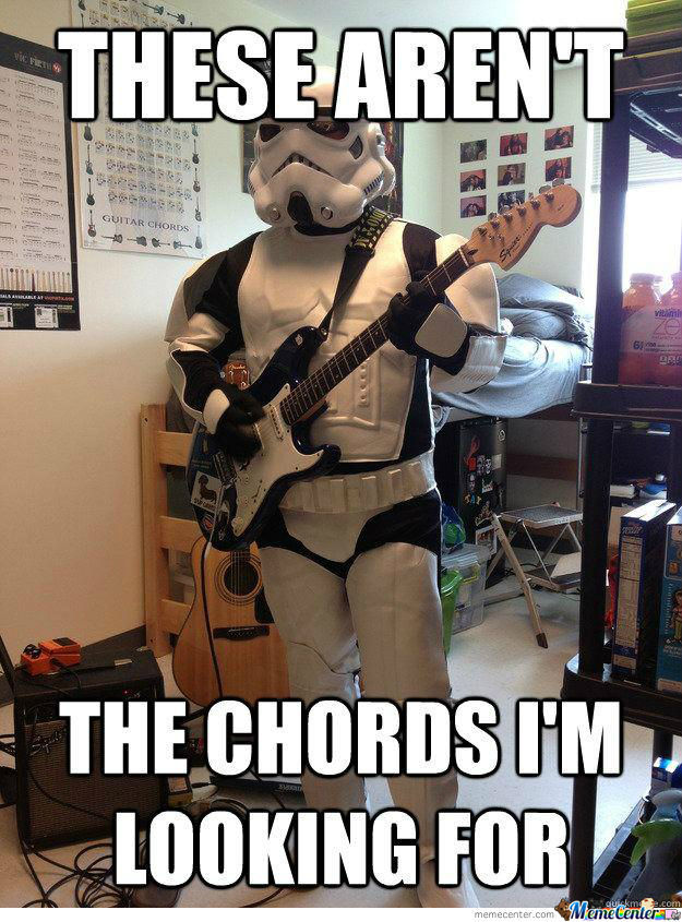 These Aren't The Chords