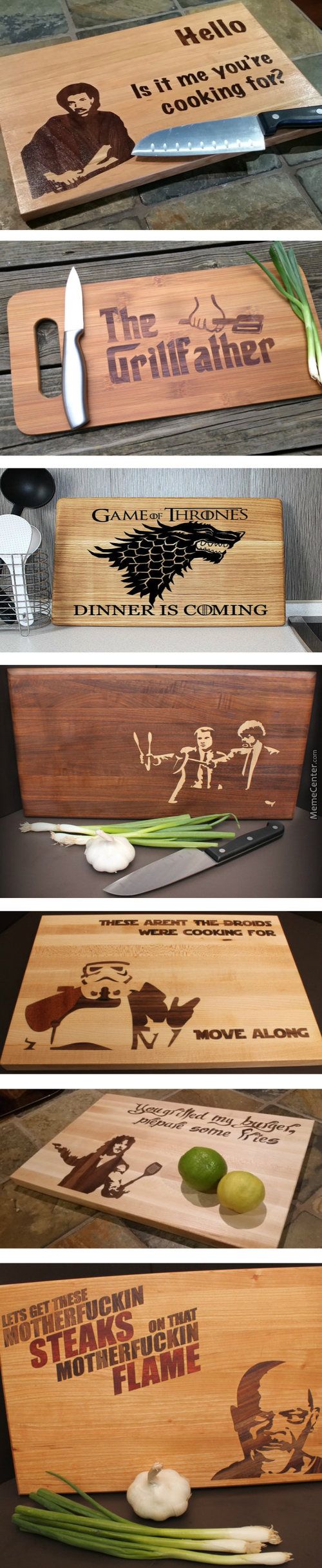 These Cutting Boards Are So Much Pun