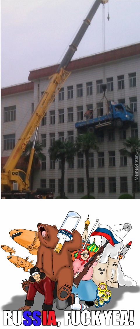 They Also Use An Old Volvo As A Wrecking Ball