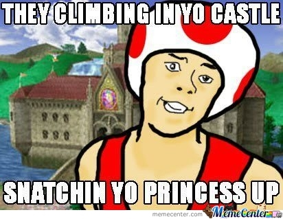 They Climbing In Yo Castle...