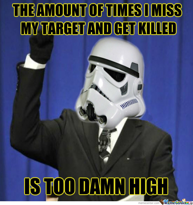 They Just Don't Make Stormtroopers Like They Use To